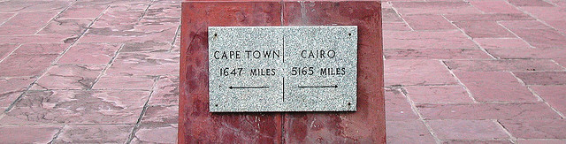 from capetown  to cairo