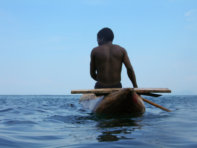 Escaping on Lake Malawi